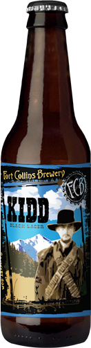 Kidd Black Lager Bottle