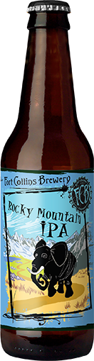 Rocky Mountain IPA Bottle